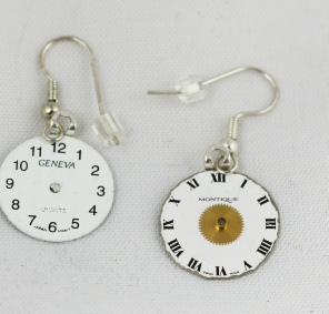 Steampunk watch parts jewelry